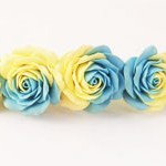 Заколка цветы Roses