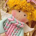 Кукла подвеска Весна