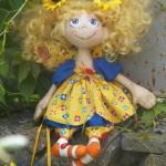 Текстильная кукла – изюминка интерьера