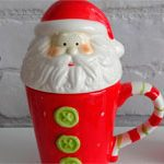 Большая кружка Санта