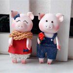 Магниты Свинки LOVE