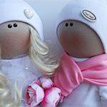 Куклы свадебные Ангелы