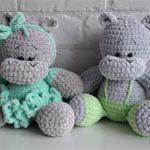 Бегемоты игрушки Happy