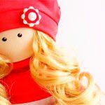 Кукла текстильная LOVE