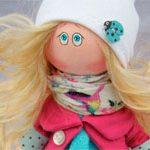 Текстильная Кукла Милаша