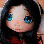 Кукла текстильная Ёлка