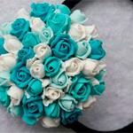 Резинка для волос Winter rose