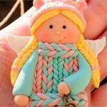 Кукла подвеска Милашечка