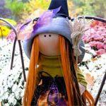 Кукла тильда Ведьма