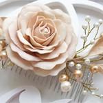 Cвадебный гребень Роза
