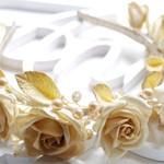 Обруч для волос Gold Roses