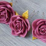 Шпильки для волос Роза
