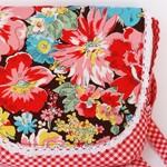 Мини сумка Цветы