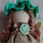Интерьерная кукла Мятка