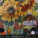 Сувенир тарелка Соняшники