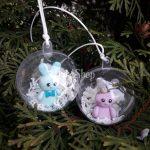 Новогодние шары из полимерной глины — эксклюзивные новогодние подарки с сюрпризом внутри!