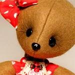 Мишка игрушка Горошка