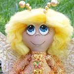 Кукла ангел Бабочка