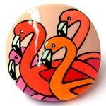 Резинка для волос Фламинго