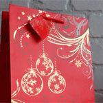 Пакет подарочный Шары