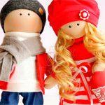 Куклы романтичная Пара