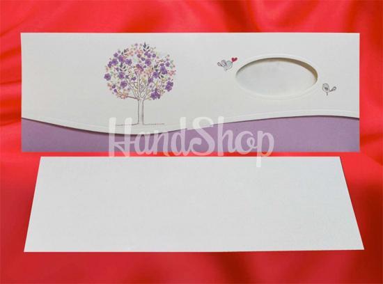 Подарок на свадьбу с конвертом для денег