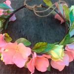 Веночек Цветы из фома