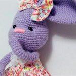 Зайчик игрушка Purple