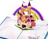 3d открытка Замок