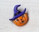 Брошь на хэллоуин Тыква