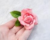 Брошка цветок ROSE