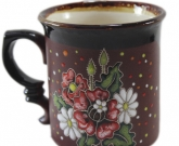 Чашки керамика Маки