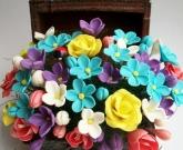 Cундучок с цветами