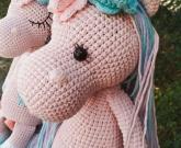 Игрушка розовый Единорог