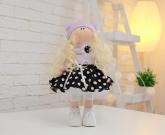 Кукла текстильная Горошка