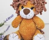 Лев мягкая игрушка