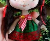 Мини кукла Новогодняя