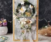 Объёмная открытка Цветочки