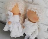 Пара кукла ангелочки