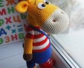 Развивающая игрушка жираф