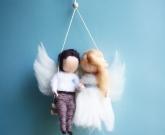 Свадебные Ангелы куколки