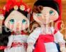 Куклы в украинском костюме