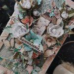 Объёмная открытка с цветами