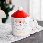 Большая чашка Санта Клаус