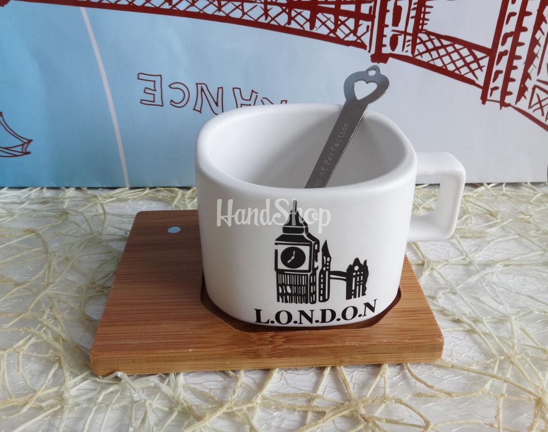 Чашка для кофе сувенир LONDON