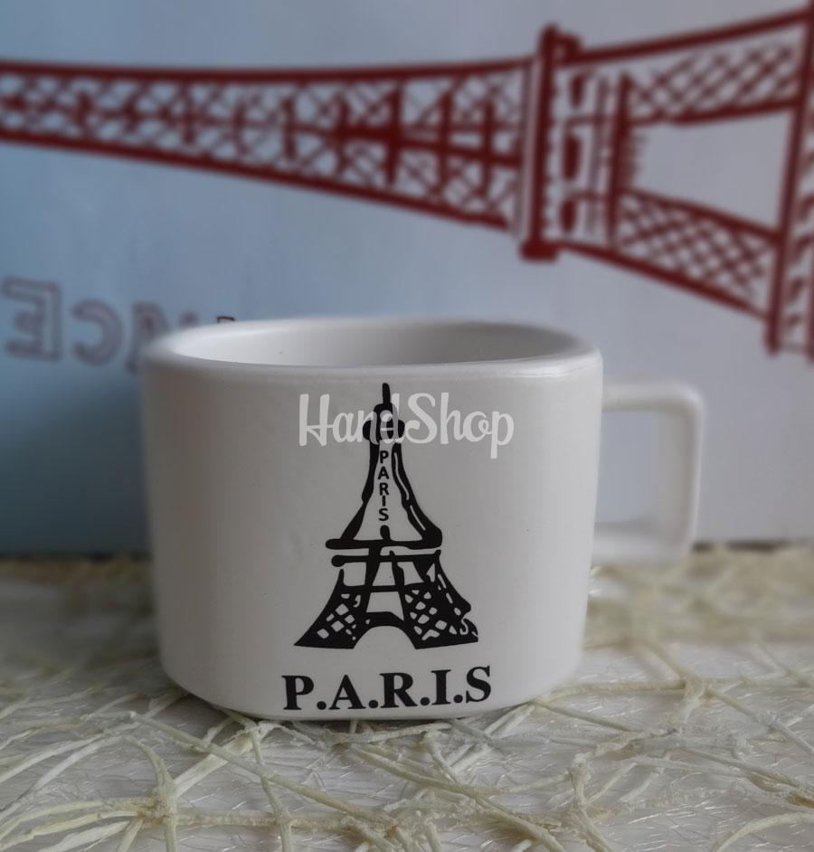 Маленькая кружка кофе Paris керамика