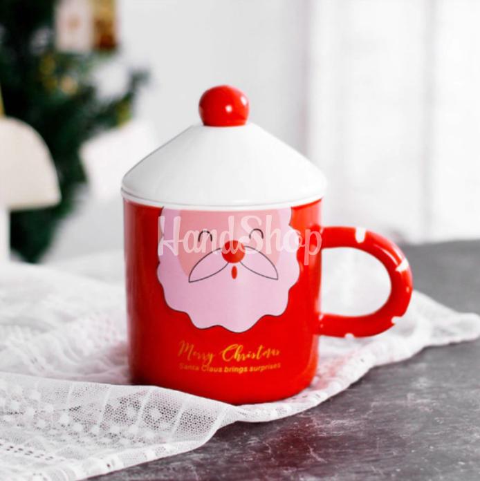 Чашка новогодняя санта клаус