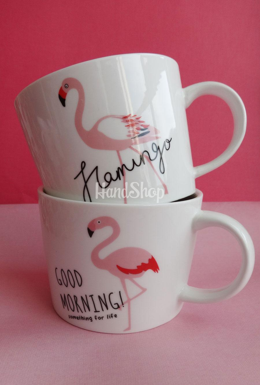 Кружка керамическая для чая 300 мл Flamingo