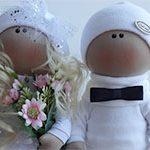 Свадебная пара Куклы
