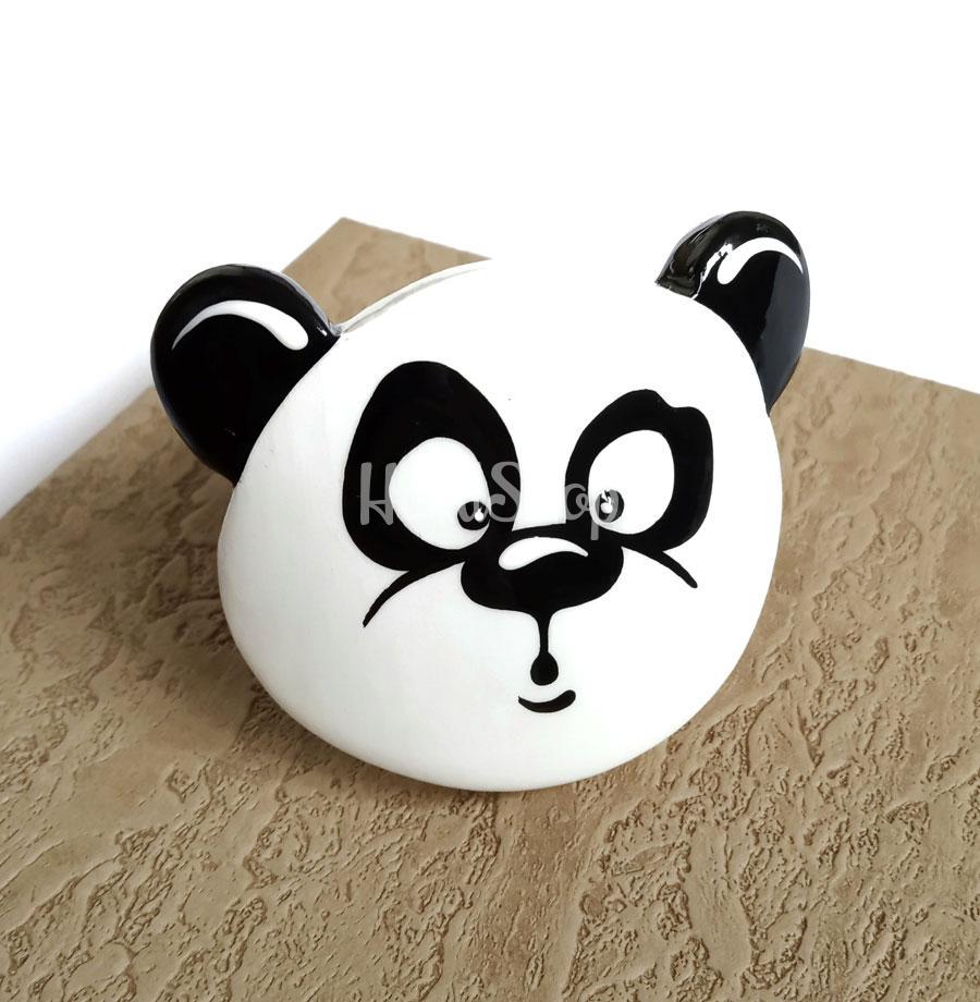 Резинка для волос детская панда